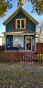 Photo for Charming Blue Bungalow Downtown Historic Montrose