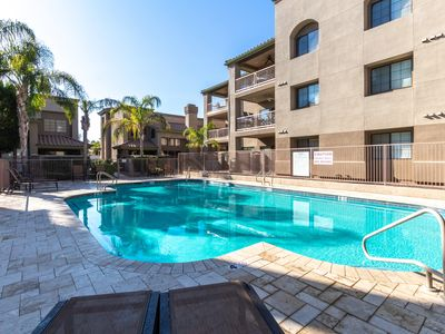 Photo for New! Gorgeous condo! Heated Pool! Sleeps 6 - Great Location!