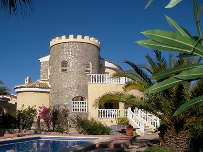 Photo for Exclusive villa with pool, near golf course, white beaches about 4-5 km