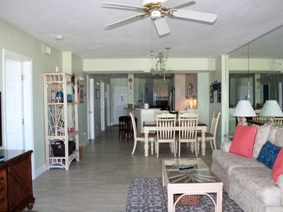 Photo for 1st Floor Beachfront - Huge Patio & Amazing Views - Direct Beach/Pool Access