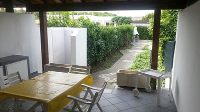 Photo for Spacious apartment with garden and barbecue