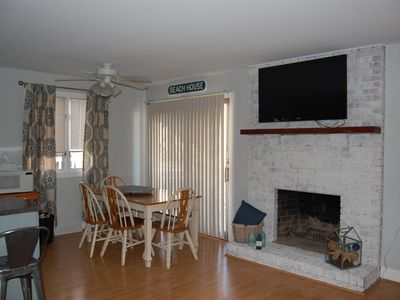 Photo for 1st floor duplex - sleeps 8 with large outdoor deck - great location!