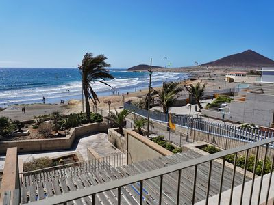 Photo for Spacious Oceanfront apartment Casa Medano nr 15