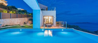 Photo for Ultimate 3-bedroom Luxury villa with private pool & amazing view