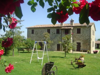 Photo for Le Terre del Casale Holiday House is an oasis of peace on the threshold of Assisi