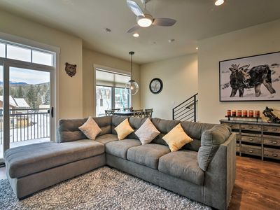 Photo for Modern Winter Park Ski Condo Near The Shuttle