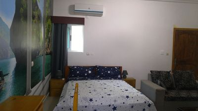 Photo for 1BR Apartment Vacation Rental in Abidjan cocody, Abidjan