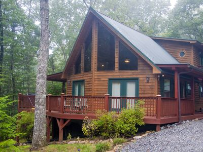 Photo for Moonlight Chalet near Murphy NC. Nice 2 bedroom Escape from the big city.