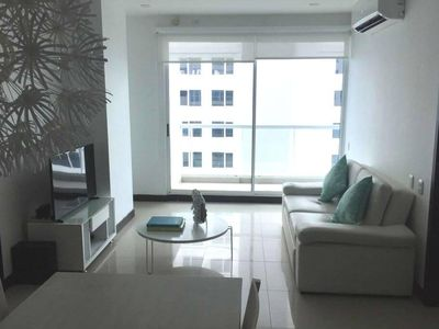 Photo for Beautiful beachfront apartment in exclusive area of Cartagena