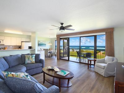 Photo for Premier Oceanfront Condo at Kauai Beach Villas - All new Designer Furnishings !