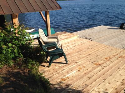 Photo for Family-Friendly, Waterfront Cottage Overlooking Aristocrat Bay
