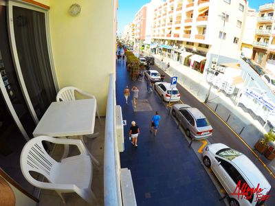 Photo for Two bedroom apartment with WIFI 150m from the beach