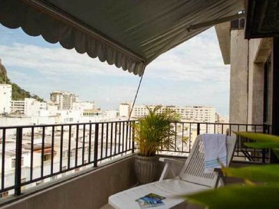 Photo for Comfortable Residential Flat with Balcony and Garage - Copacabana