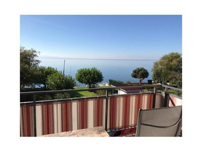 Photo for Top apartment with a wonderful lake view and PRIVATE BATHING BEACH