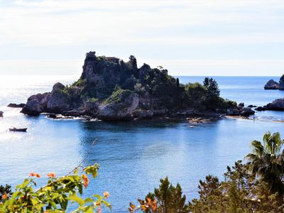 Photo for New! Taormina - Beachfront Penthouse with terrace and parking