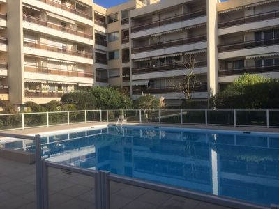Photo for Studio 31m2 terrace, swimming pool in Beaulieu sur Mer
