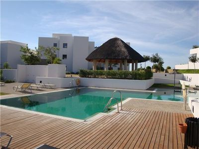 Photo for Modern apartment with amazing sea views, Close to golf courses and short drive to Estepona