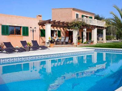 Photo for 4 bedroom Villa, sleeps 8 in Calonge with Air Con and WiFi