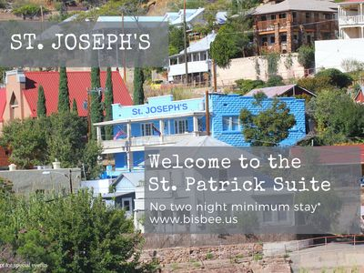 Photo for St Patrick Suite at St. Joseph's in the Heart of Old Bisbee