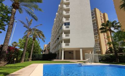 Photo for Apolo12-1B Apartment with pool and sea views on Levante Beach in Calpe