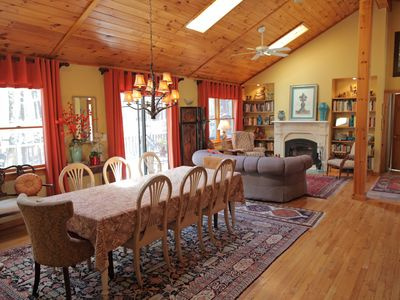 Photo for Gracious Woodstock Retreat -Walking Distance to Town