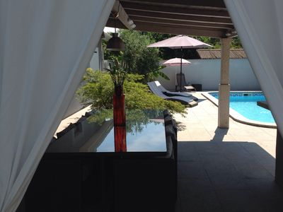 Photo for Nice house swimming pool 7 minutes from the heart of Bordeaux