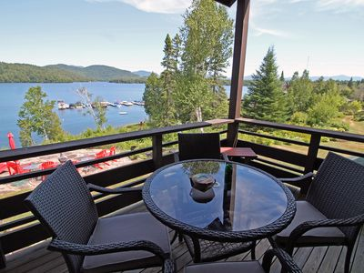 Stunning Lake & Mountain views-Private Beach access-Whiteface Club Resort