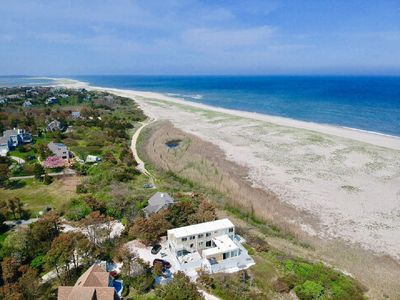 Photo for 5-BR Beach House Directly On Nauset Beach, Best Views on the East Coast; 017-O