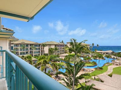 Photo for OCEAN VIEW PENTHOUSE D402 **AC**  Resort Pool & Restaurant