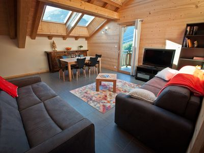 Photo for New apartment in chalet in Morzine 6-7 people
