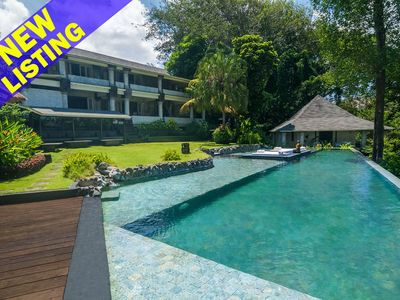 Photo for Rumah Matisse, 5 Bedroom Villa by the beach, river and jungle views, Near Canggu