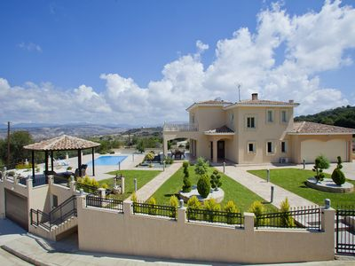 Photo for Villa With Private Pool, Sea And Mountain View