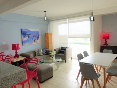 Photo for amazing and cozy apartment in the downtown area of cancun ideal for six 804ES