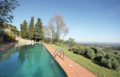 Photo for House overlooking the Chianti area, surrounded by olive trees, with beautiful pool