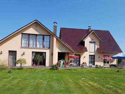 Photo for Modern Holiday Home with Swimming Pool in Rolofshagen