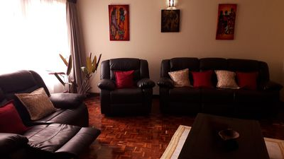 Photo for Spacious 3 Bedroom Apartment, fully furnished with swimming pool available
