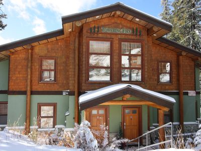 Photo for Big White Snow Pines Chalet - Pet Friendly Sleeps up to 10, Private Hot Tub!!!