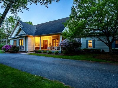 Photo for Spacious Family Retreat 2 Master Suites, InGround Pool, Outside Kitchen and more