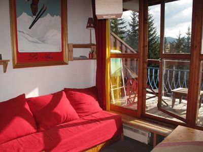 Photo for DUPLEX 6 PEOPLE, ARC 1800 quiet residence ARCHEBOC, at the foot of the slopes Wi-Fi