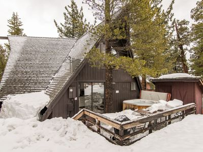Photo for 3BR/2BA South Lake Tahoe House w/Hot Tub - Close to Skiing, Walk to Dining