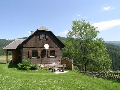 Photo for Magnificently located chalet, directly on the forest's edge.