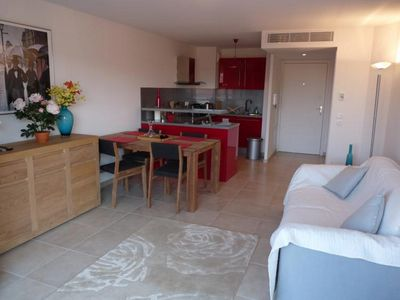Photo for One bedroom apartment in Cannes very close to the Palais. Private balcony & A/C