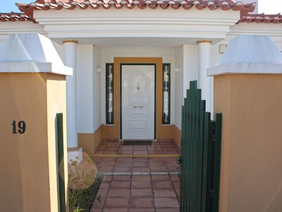 Photo for Villa with Garden, Pool and Wifi by the Beach and Nature Reserve