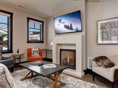 Photo for 3BR, 3BA Luxury Boutique Townhome w/ Private Hot Tub - Walk to Cabriolet Lift