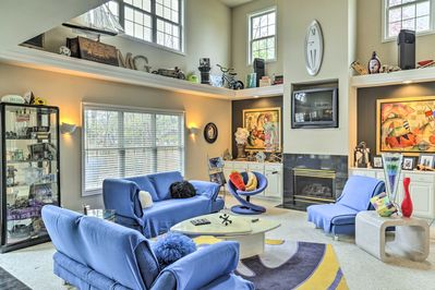 Saddle up for this 2-bedroom, 2.5-bathroom vacation rental home in Lexington!
