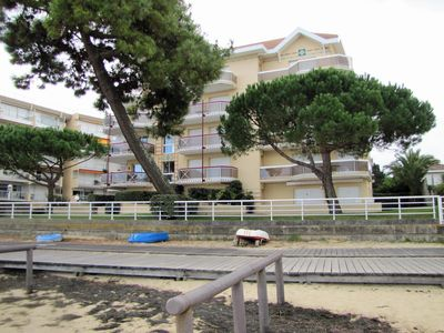 Photo for APARTMENT T2 ARCACHON ideally located in residence direct access beach