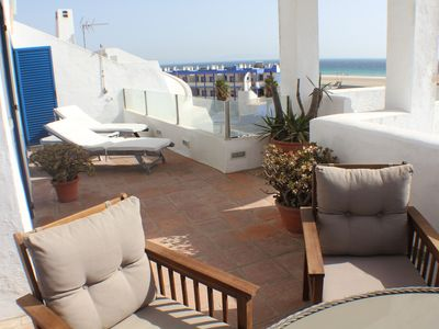 Photo for Beach Penthouse with wonderful views and dunes Africa