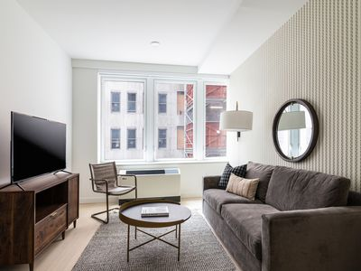 Photo for Sonder | Wall Street | Charming 1BR + Lounge