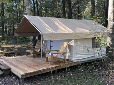 Photo for Safari tent camping along the Suwannee River on a private campsite