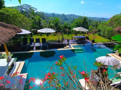 Photo for Unique Villa with Stunning Views, Ubud